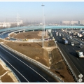Construction of a road interchange with the Moscow Ring Road near Novokosino