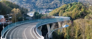 Construction of a Sochi by-pass route of M-27 Dzhubga-Sochi motorway